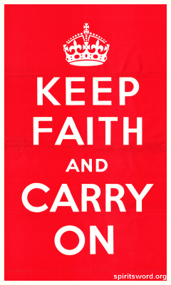 SpiritsWord Keep Faith Banner